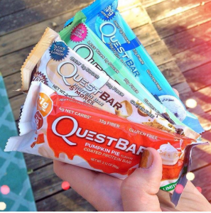 Photo courtesy of @questnutrition on Instagram