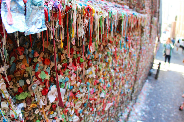 Pike Place Gum Wall