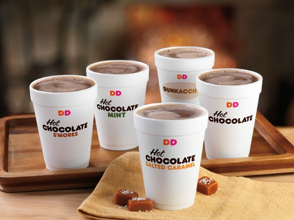 Hot Chocolate Nutrition Dunkin Donuts