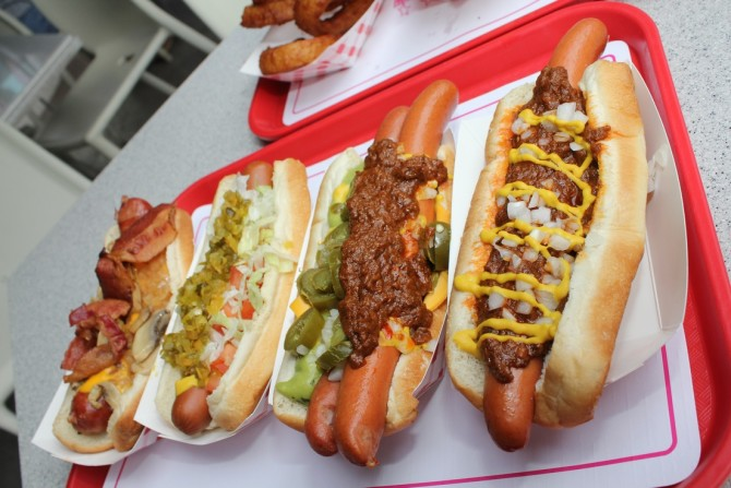 hot dogs in America