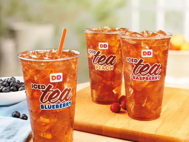 Sweet Coffee Drinks At Dunkin Donuts