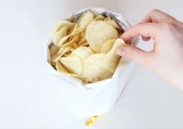 How to Transform Your Chip Bag Into a Bowl