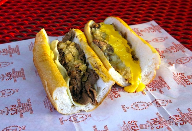 Photo courtesy of Pat's King of Steaks
