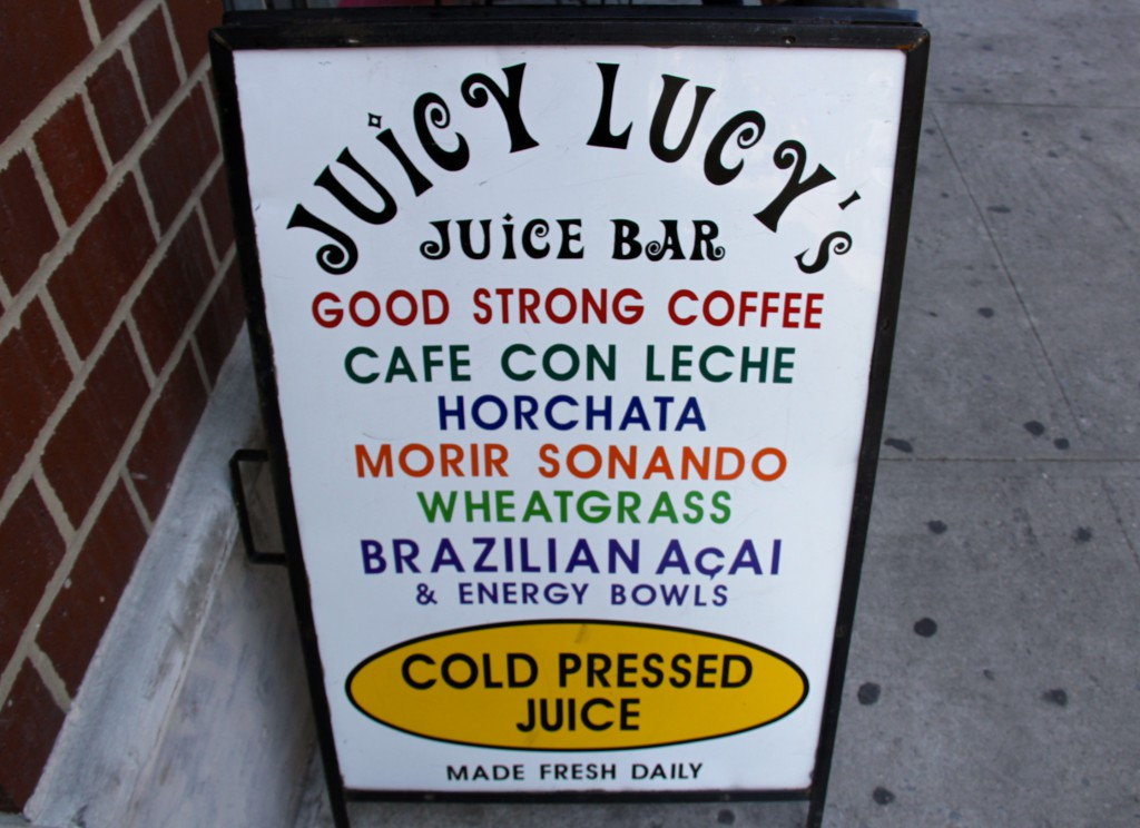 East Village Juice Bar Roundup