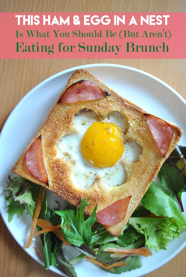 ham egg nest