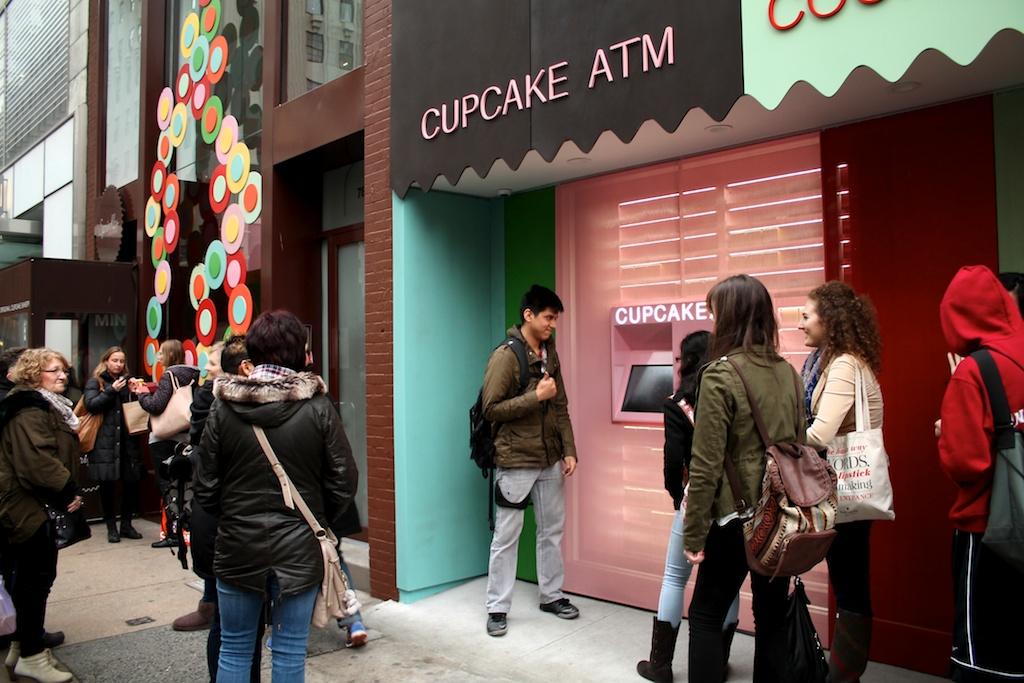 Cupcake ATM Hits NYC