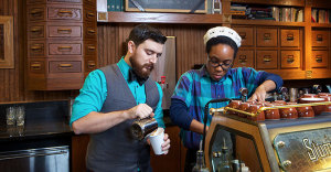 stumptown barista