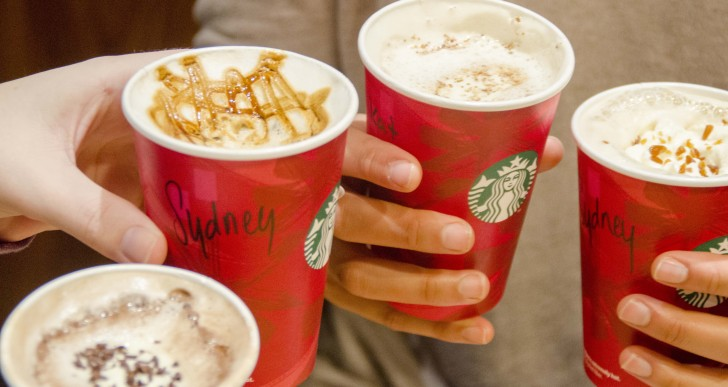 Taste Test: Starbucks' Holiday Drinks