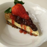 The Best Gluten-Free Strawberry Cheesecake You'll Ever Have