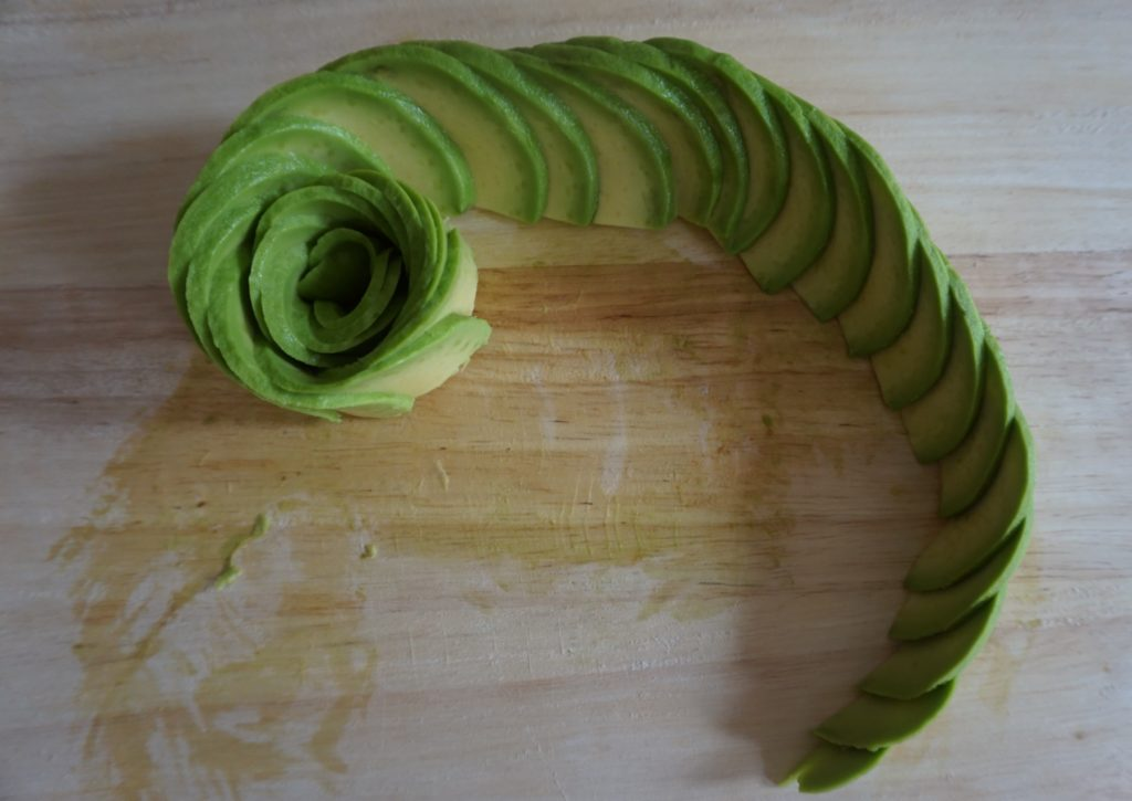 avocado toast; avocado; avocado rose