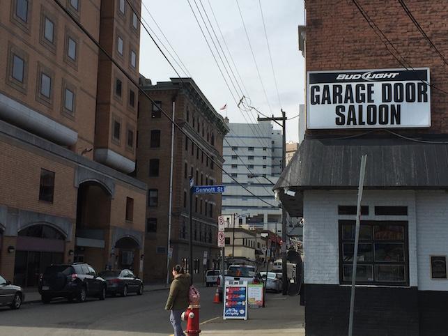 Garage Door Saloon