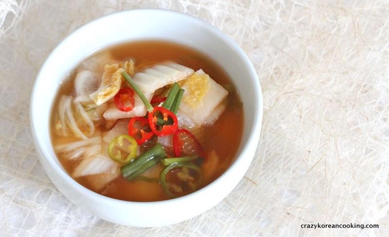 kimchi types