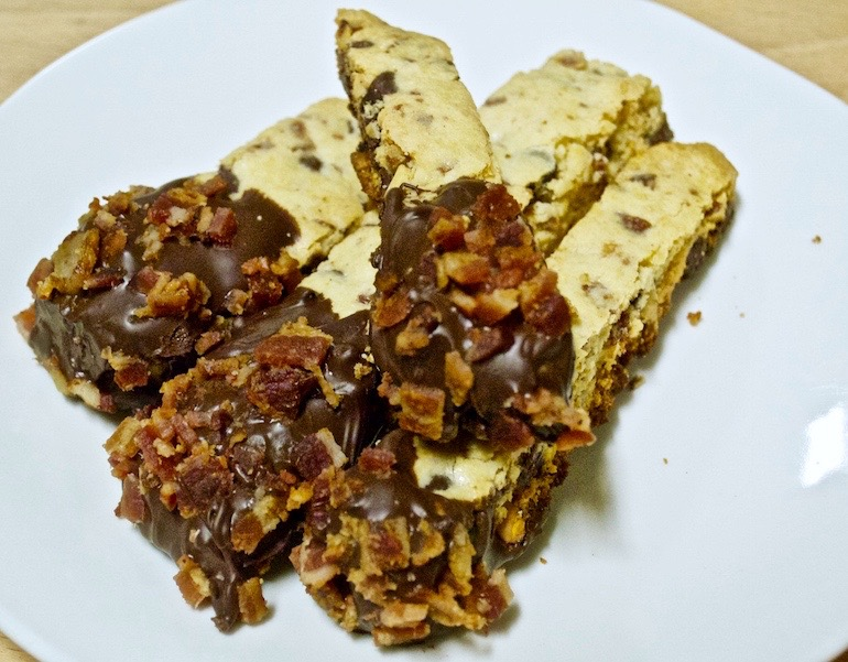 How To Make Chocolate Chip And Bacon Biscotti