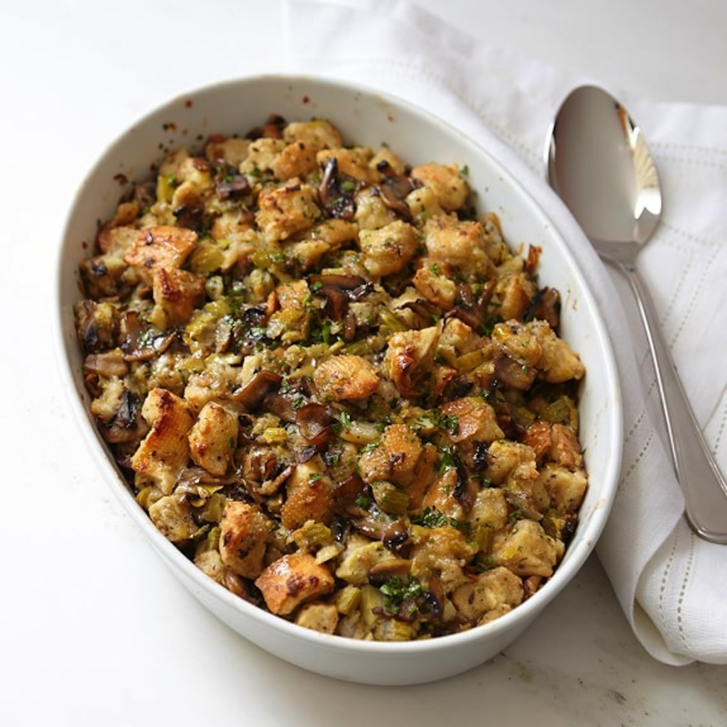 This stuffing is a delish twist on the classic stuffing and gives you ...