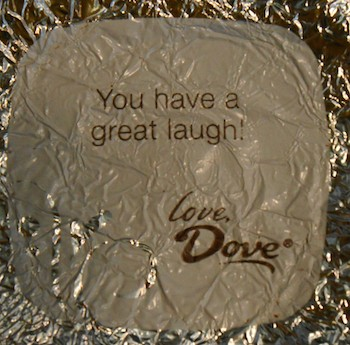 Dove Chocolate Wrappers