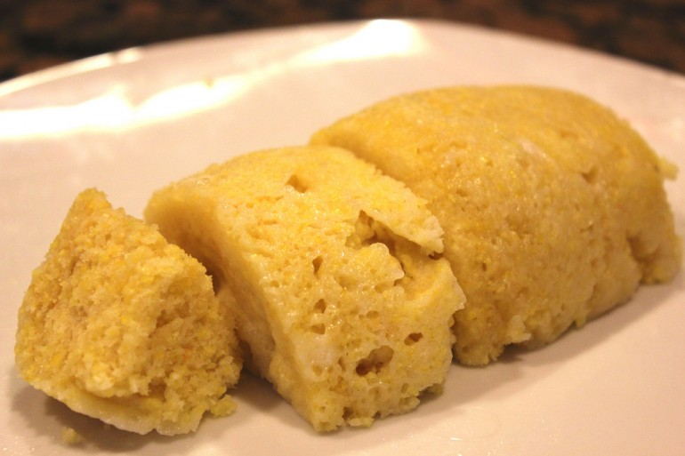 Microwave Meal: Cornbread for One