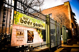 Bill's Beer Garden: An Outdoor Drinking Spot That's not Charley's