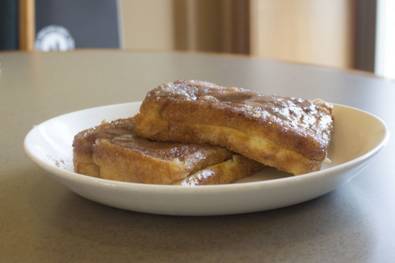 Upside Down Cinnamon French Toast