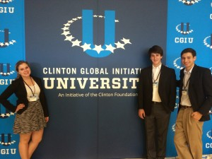 University of Michigan WWFF leaders at the CGIU conference