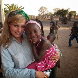 Lorenzini on a recent trip to Africa. Photo courtesy of willworkforfoodblogspot.blogspot.org