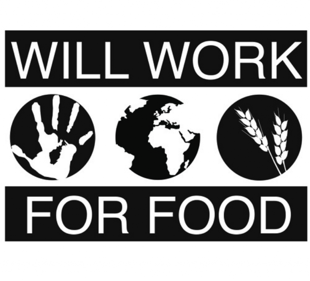 Photo courtesy of willworkforfood.org