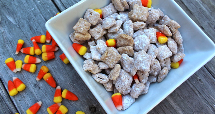 Pumpkin Spice Puppy Chow is Here