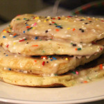 Birthday Cake Remix Pancakes
