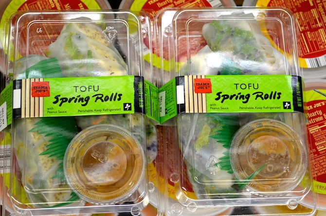 Trader Joe's Tofu Spring Rolls