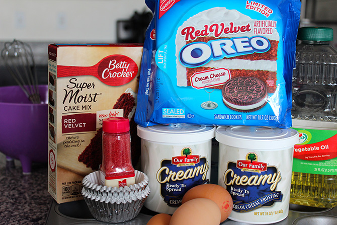 how to make red velvet cupcakes with cake mix