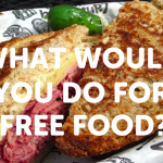 Watch How Far College Kids Are Willing To Go For Free Food