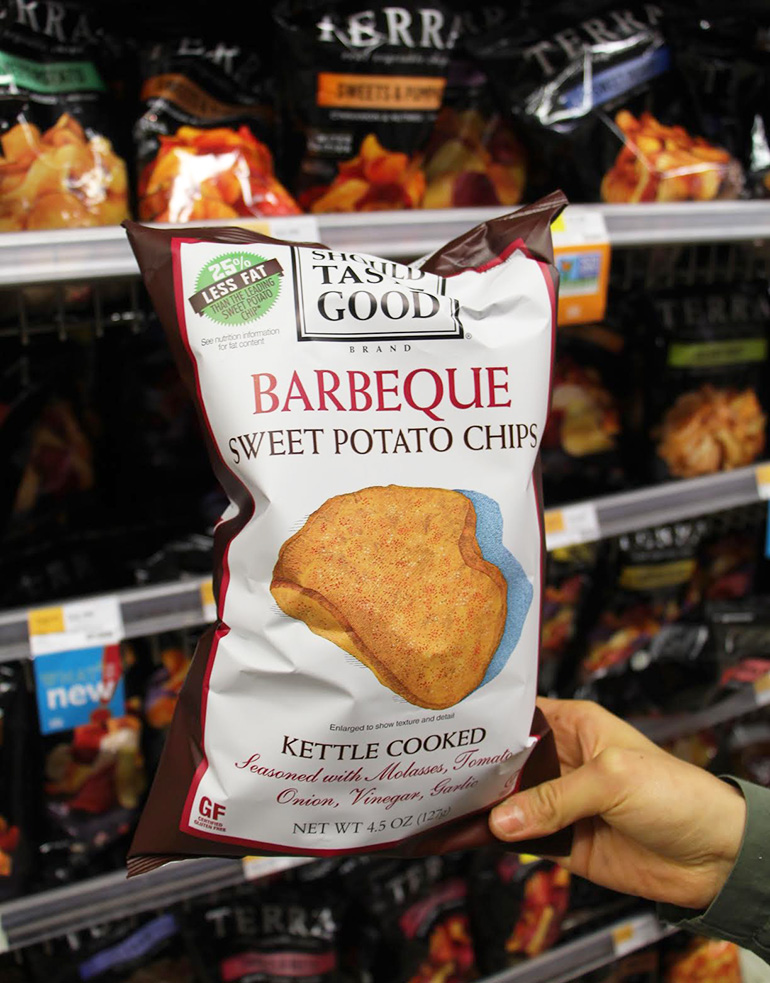 ... Should Taste Good Barbecue Sweet Potato Chips for Lays Barbecue Chips