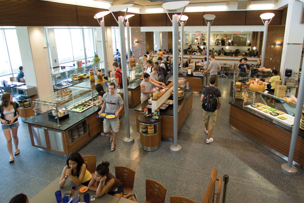 What it s like to navigate the dining hall as a picky eater for U of t dining hall
