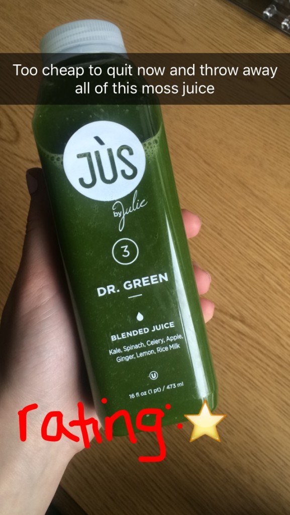 one-day juice cleanse