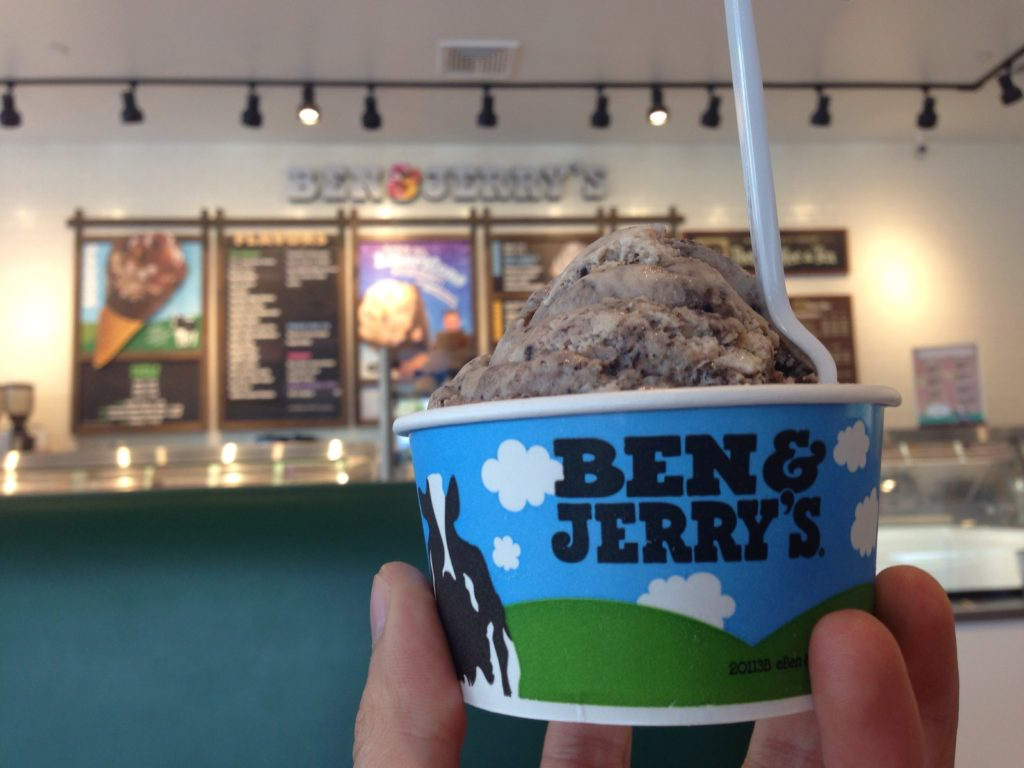 ben & jerry's intern