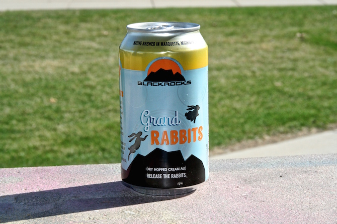 Blackrocks Brewery Grand Rabbits Dry Hopped Cream Ale