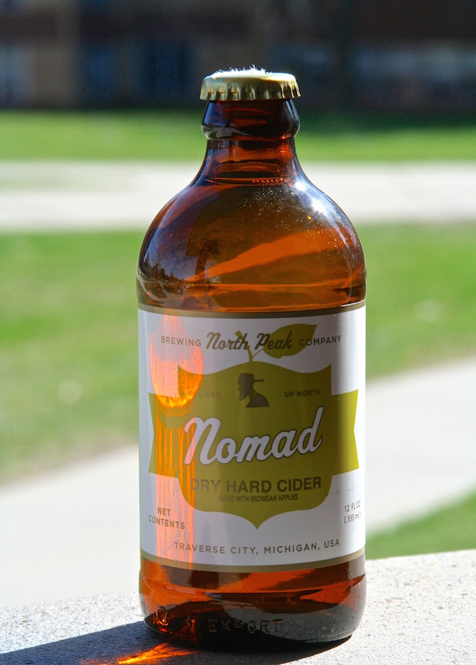 North Peak Brewing Company Nomad Hard Cider