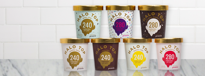 Photo courtesy of Halo Top Creamery on halotop.com