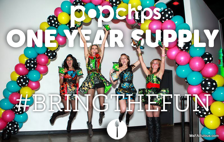 Win One Year of popchips