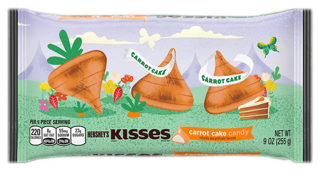 Carrot Cake Hershey Kisses