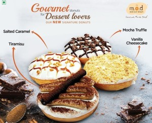 Four Donuts by M.O.D That You Cannot Miss