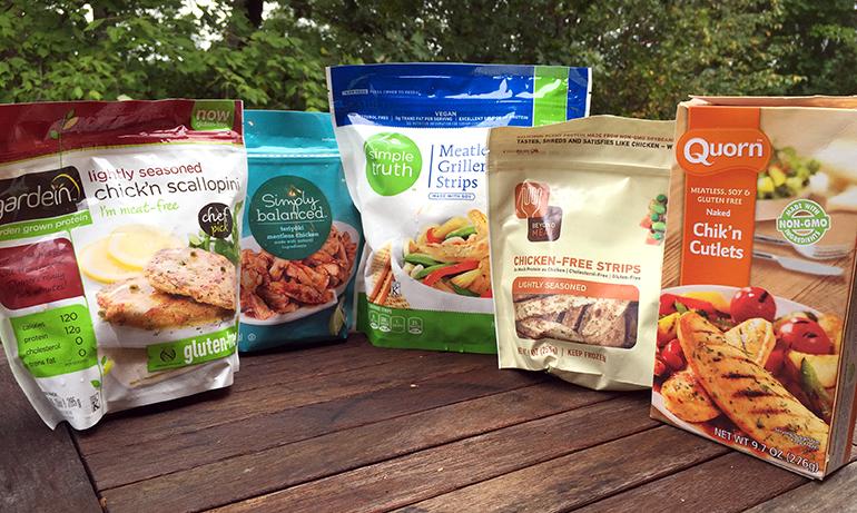 5 imitation chicken brands for vegetarians