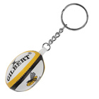 Wasps Rugby Ball Keyring