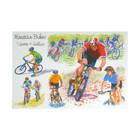 Mountain Bikes Greeting Card