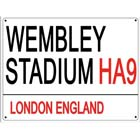 Wembley Metal Wall Sign
