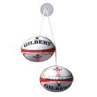 Wales Rugby Car Dangle Set