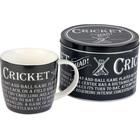 Cricket Mad Mug and Tin