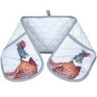 Pimpernel Wrendale Pheasant Double Oven Glove