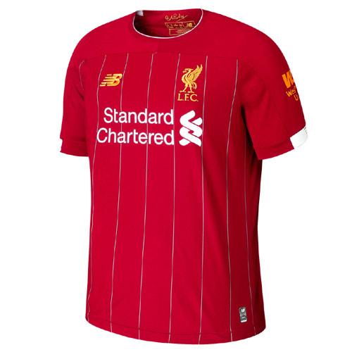 Liverpool Home S/S Jnr Football Shirt