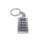 We are England 2019 Official ECB Logo Keyring- Silver