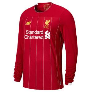 a91d1a285 Liverpool Home L S Football Shirt 19 20